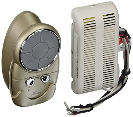 Hunter 27209 Universal Fan and Light Remote, Desert Platinum Finish