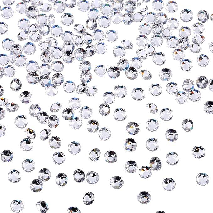 1000 ST Red Diamonds Decoration Wedding Table Decorations streudeko Acrylic 4,5 Stones