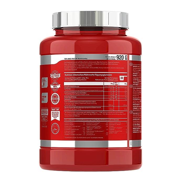 Scitec Nutrition Whey Protein Professional Proteína con Sabor de ...