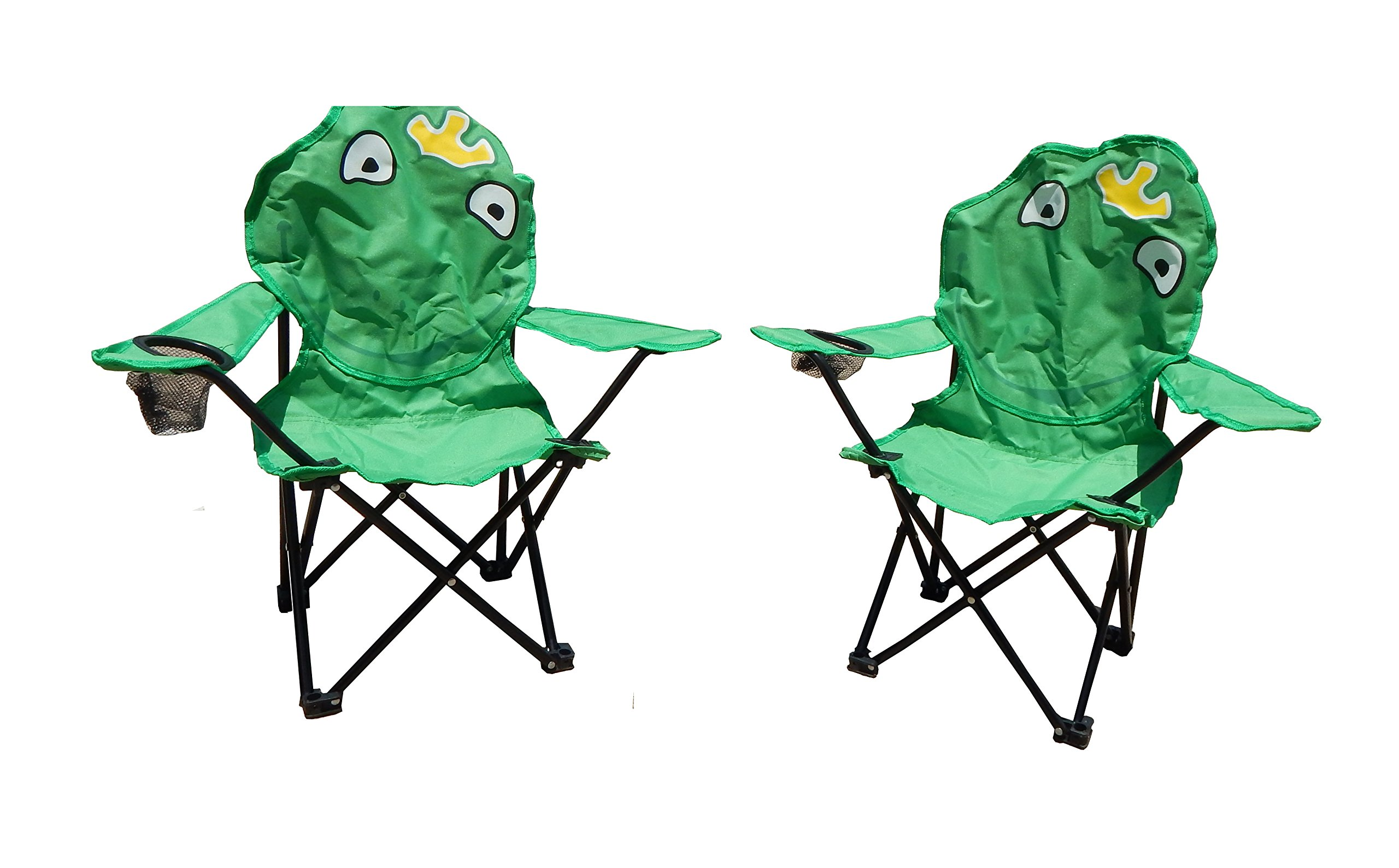 Folding Kids Camping Chairs in Animal Designs by J&Y Home & Garden (Set of 2) by MAOS (Image #3)