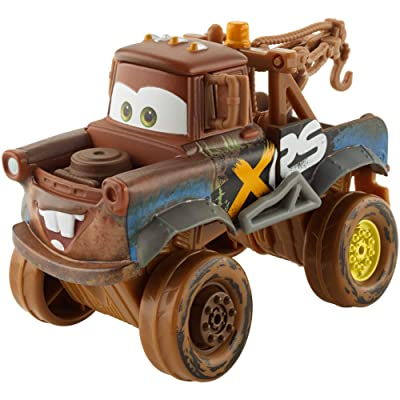 Disney Pixar Cars XRS Mud Racing Mater: Toys & Games