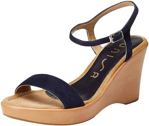Hishoes - Sandalias para hombre, color amarillo, talla 35 EU / China Size 36