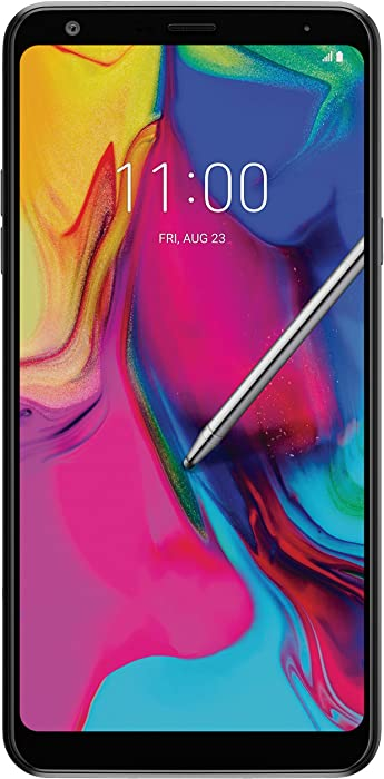 "LG Stylo 5 Factory Unlocked Phone - 6.2"" Screen - 32GB - Black (U.S. Warranty)"