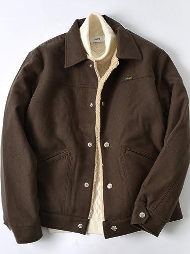 Wrangler Ranch Jacket Cordura Combat Wool 114-04-0040: Brown