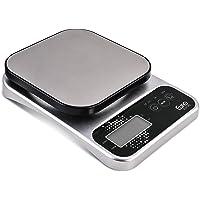 Balança digital Pró para Cozinha pró 5 kg, Prata, BAL7825, Euro Home