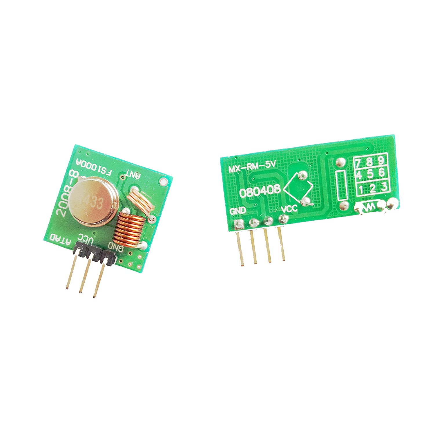 1pcs 433mhz Rf Transmitter And Receiver Kit For Arduino Amazonco 4 Channel Circuit Cy046 Buy Electronics