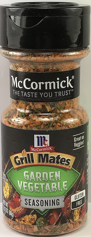 McCormick Grill Mates Garden Vegetable Seasoning, 3.12 oz (Pack of 3)