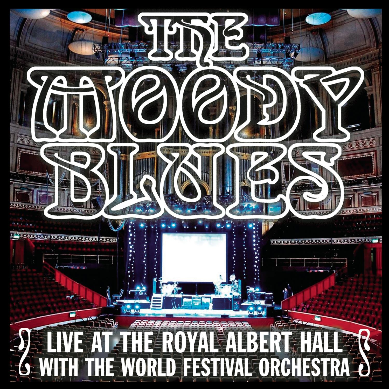 CD : The Moody Blues - Live At The Royal Albert Hall With The World Festival Orchestra (CD)