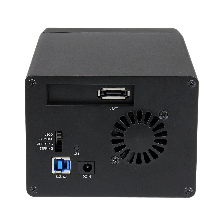 Startech S3520BU33ER - Caja para 2 Discos Duros de 3.5