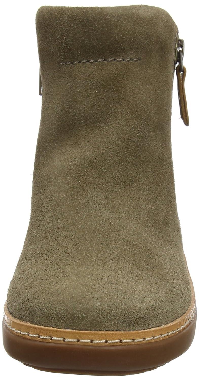 8fdf7f0d5aa81 Clarks Hautes Amberlee Rosi, Sneakers Hautes Vert Clarks Femme, Taille  Unique Vert (Olive) c3f5502