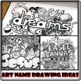 Art Name Drawing Ideas