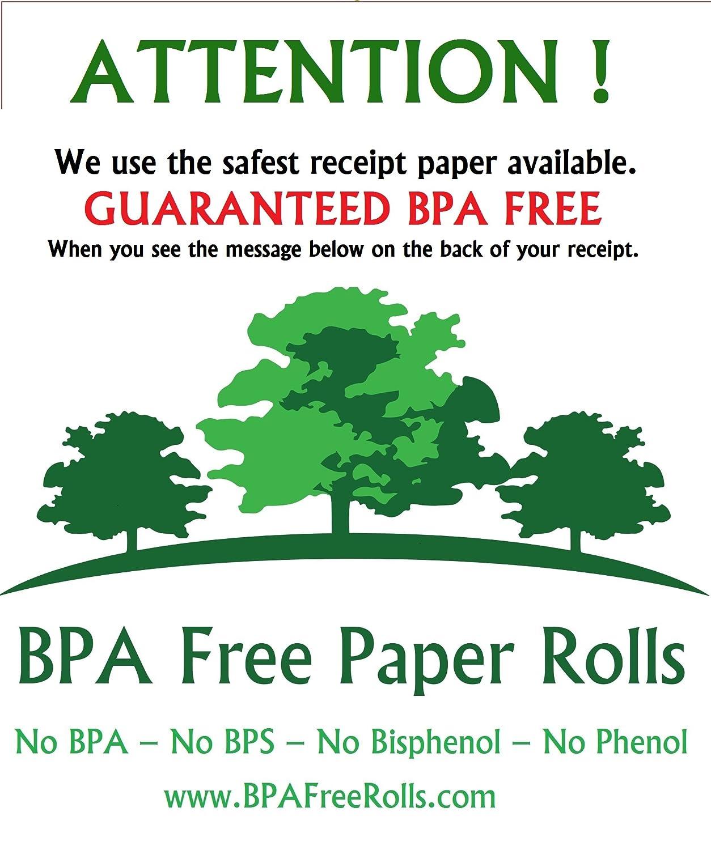 /BPF libre/ sin BPA SNBC btp-r180ii/ color blanco 80 x 70mm 20/rollos /BPS libre/ /fenol libre. /80/mm sin BPA rollos t/érmicos BPC libre/