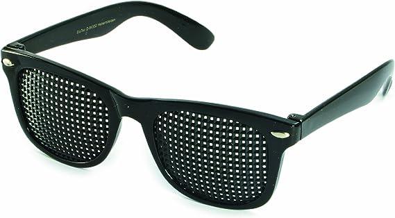 Lunettes à Grille 415-SSP - de forme carrée grille - noir - Incl. Accessoire