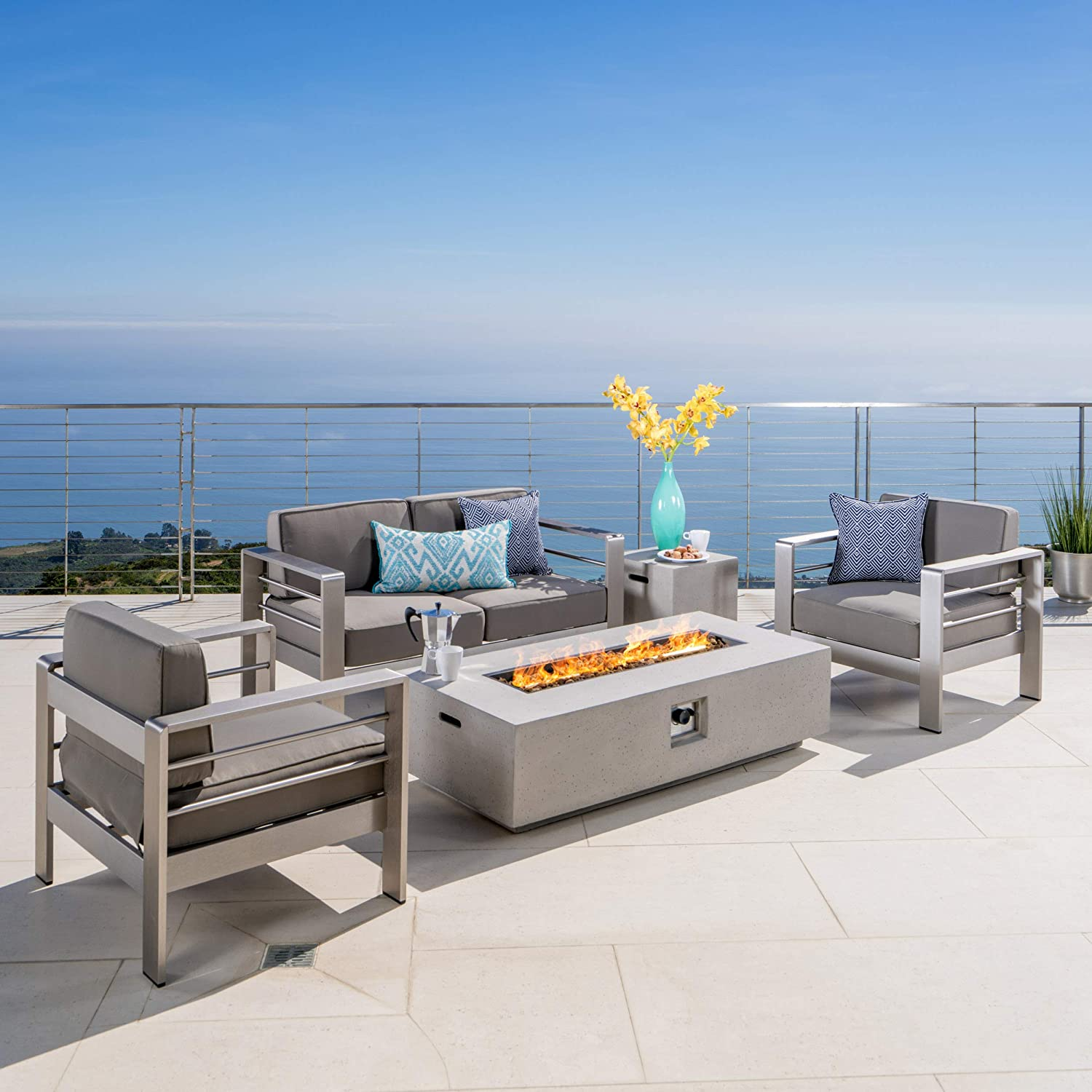 Amazon.com: Crested Bay Patio Furniture. Set de sofa ...
