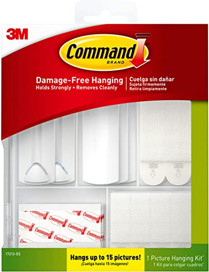 17213-ES 2 Pack Indoor Use Command Picture Hanging Kit