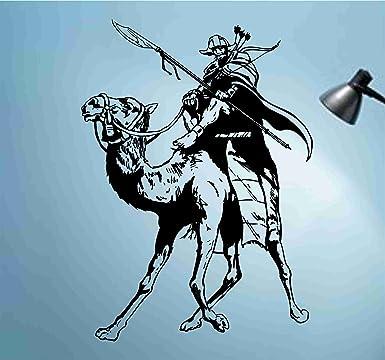 Amazon.com: Mongol en Camel calcomanía para pared adhesivos ...