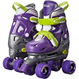Chicago Kids Adjustable Quad Roller Skates - Purple