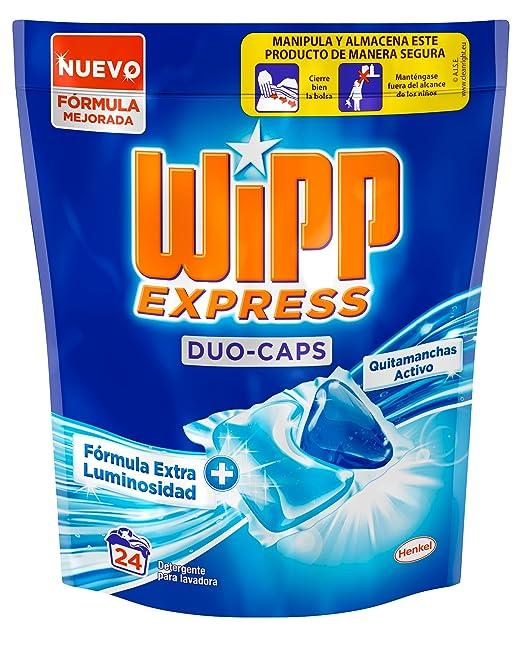 WIPP Duo Caps Detergente para ropa - 24 capsulas
