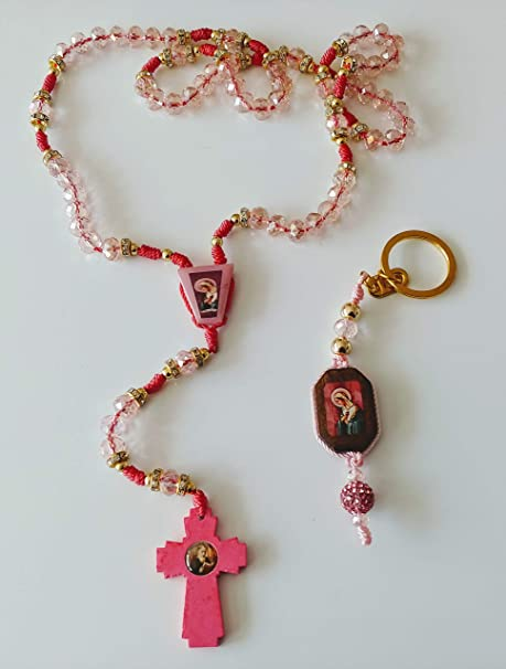 Amazon.com: Party Supplies Rosary The Mystic Rose. and Key ...