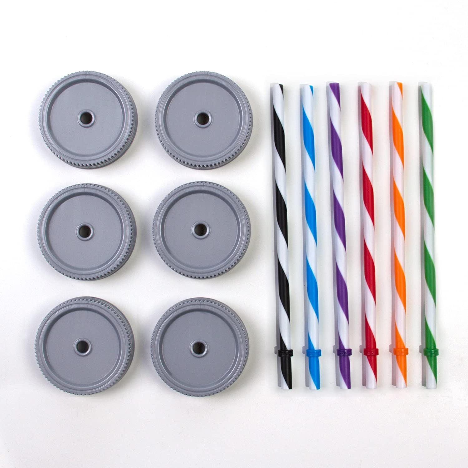 Straw Lids and Straws