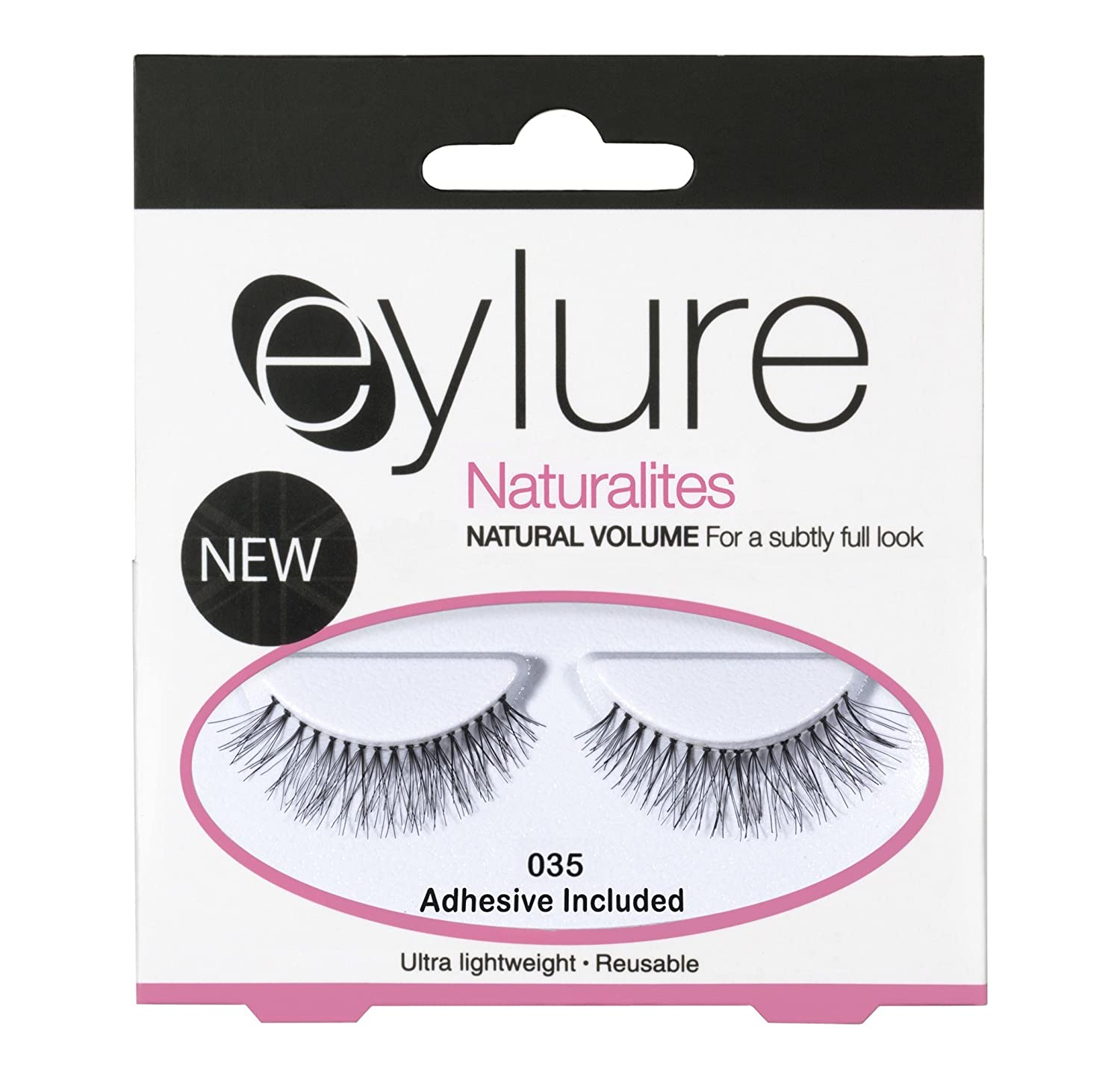 d86833dcab3 Amazon.com: EYLURE NATURALITES NATURAL VOLUME FALSE EYELASHES - 035: Beauty