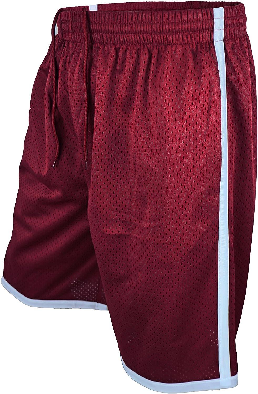 LeeHanTon Men/'s Performance Athletic Basketball Shorts