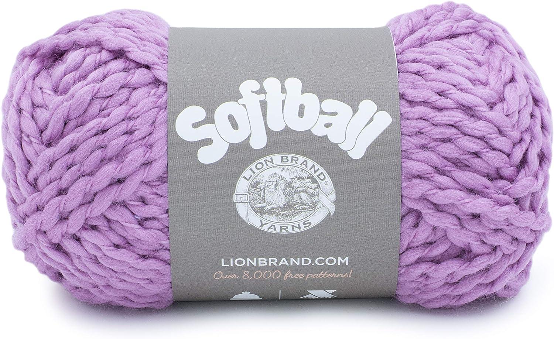 Lion Brand Yarn Softball yarn, COSMOS