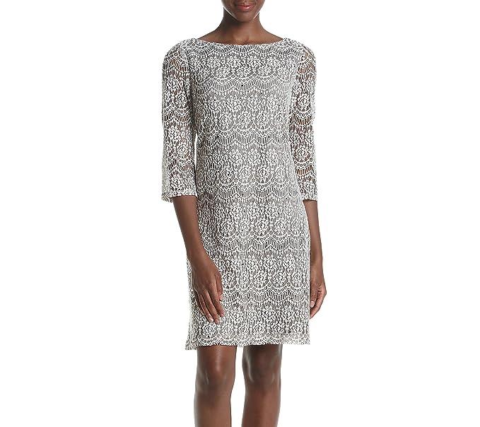 59848734bc65 Jessica Howard Women's Lace Shift Dress at Amazon Women's Clothing store: