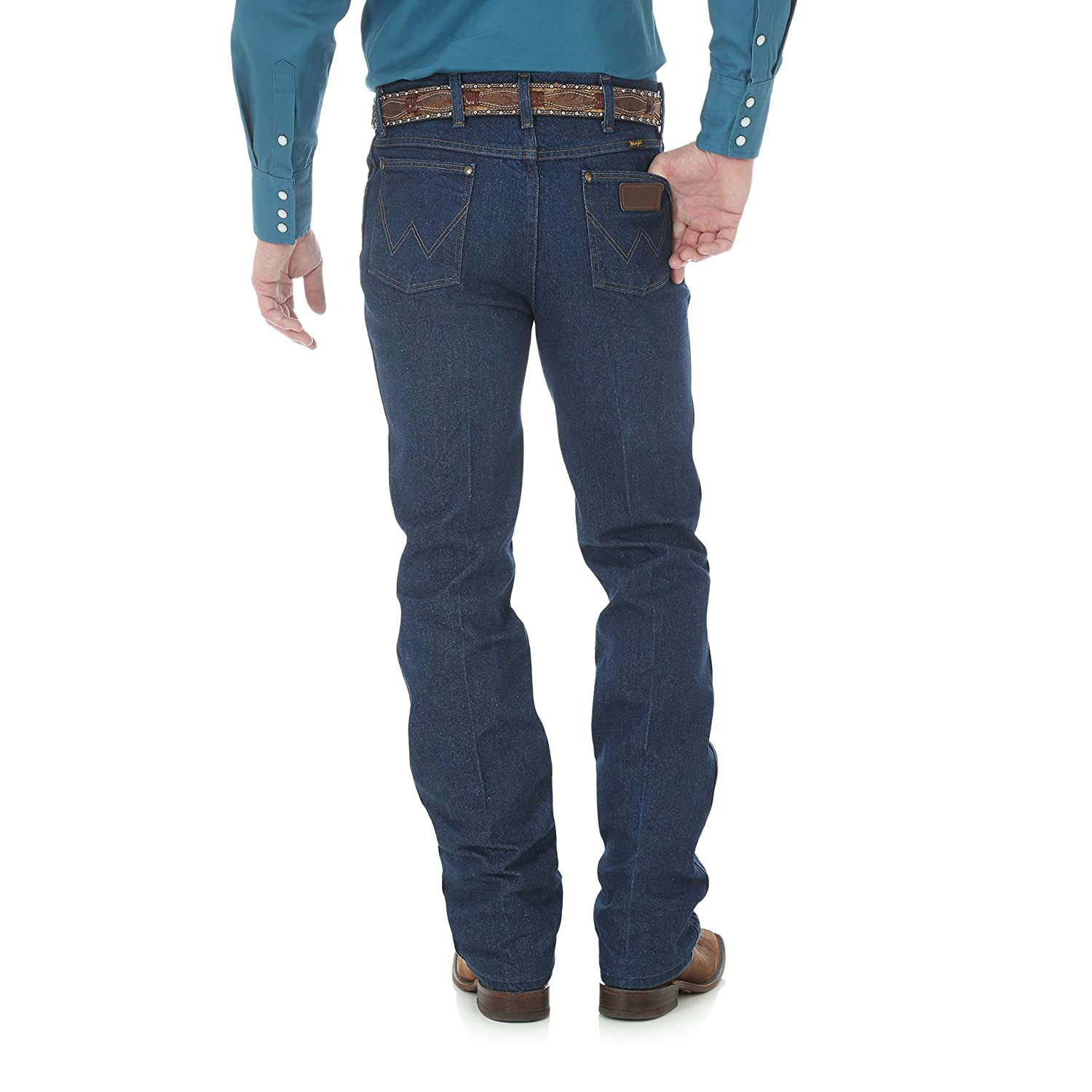 93bfe5f2 Wrangler Men's Premium Performance Cowboy Cut Slim Fit Jean at Amazon Men's  Clothing store: