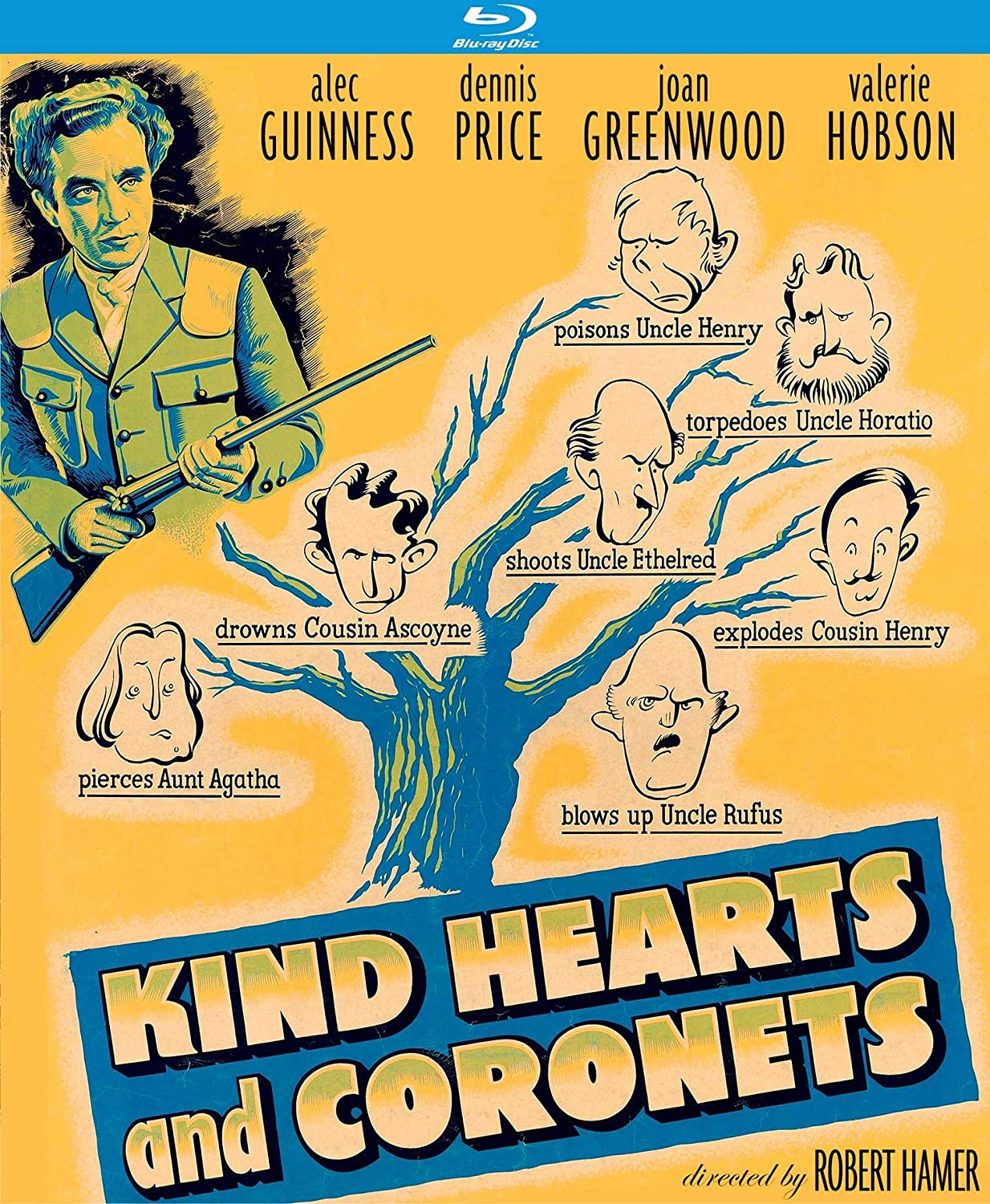 Kind Hearts and Coronets (Special Edition) [Blu-ray]