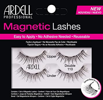 2735995dde3 Ardell Professional Magnetic Double Strip Lashes, 110 Black: Amazon.ca:  Beauty