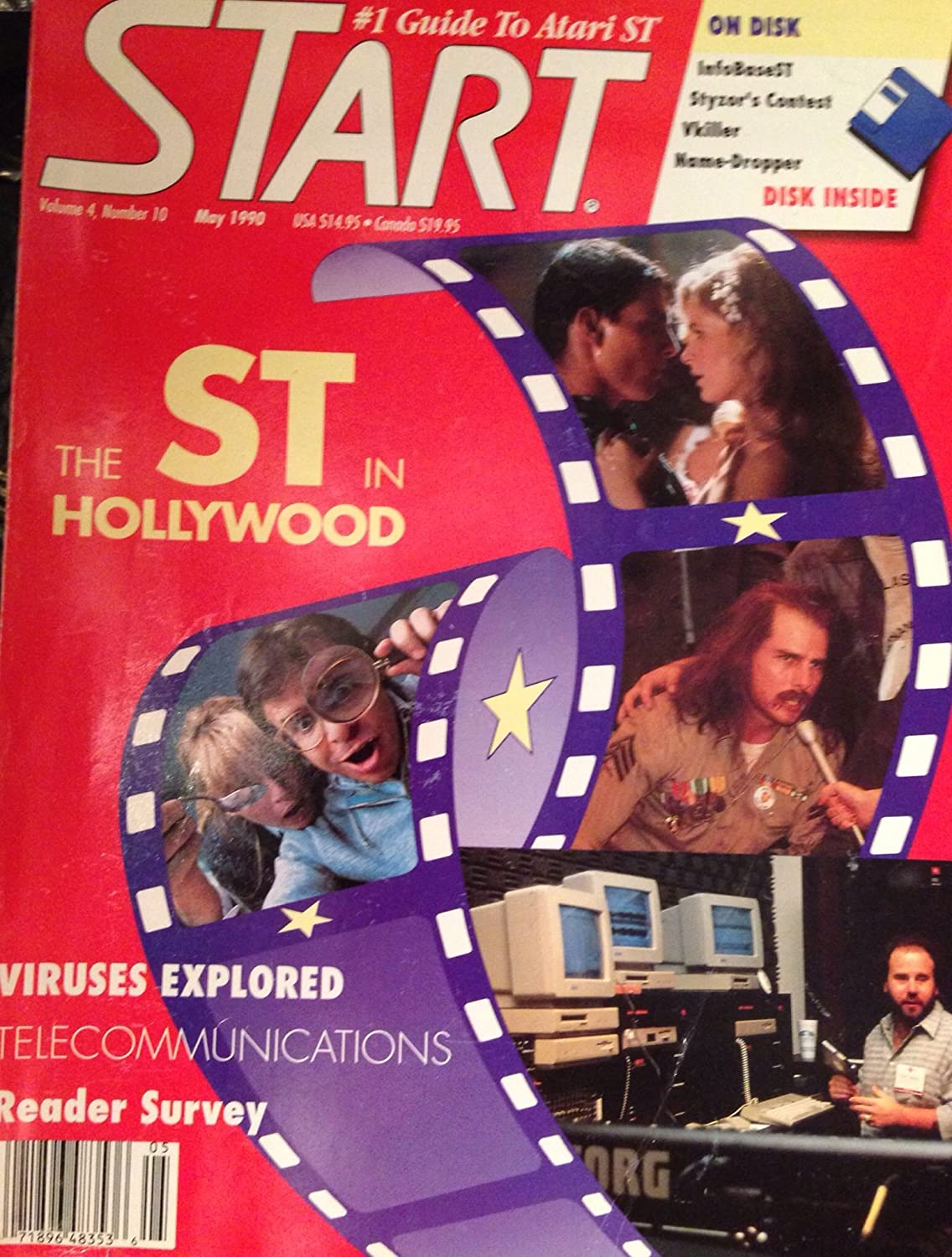 STart Magazine #1 Guide To Atari ST [ Vol. 4, No.10, May 1990 ]