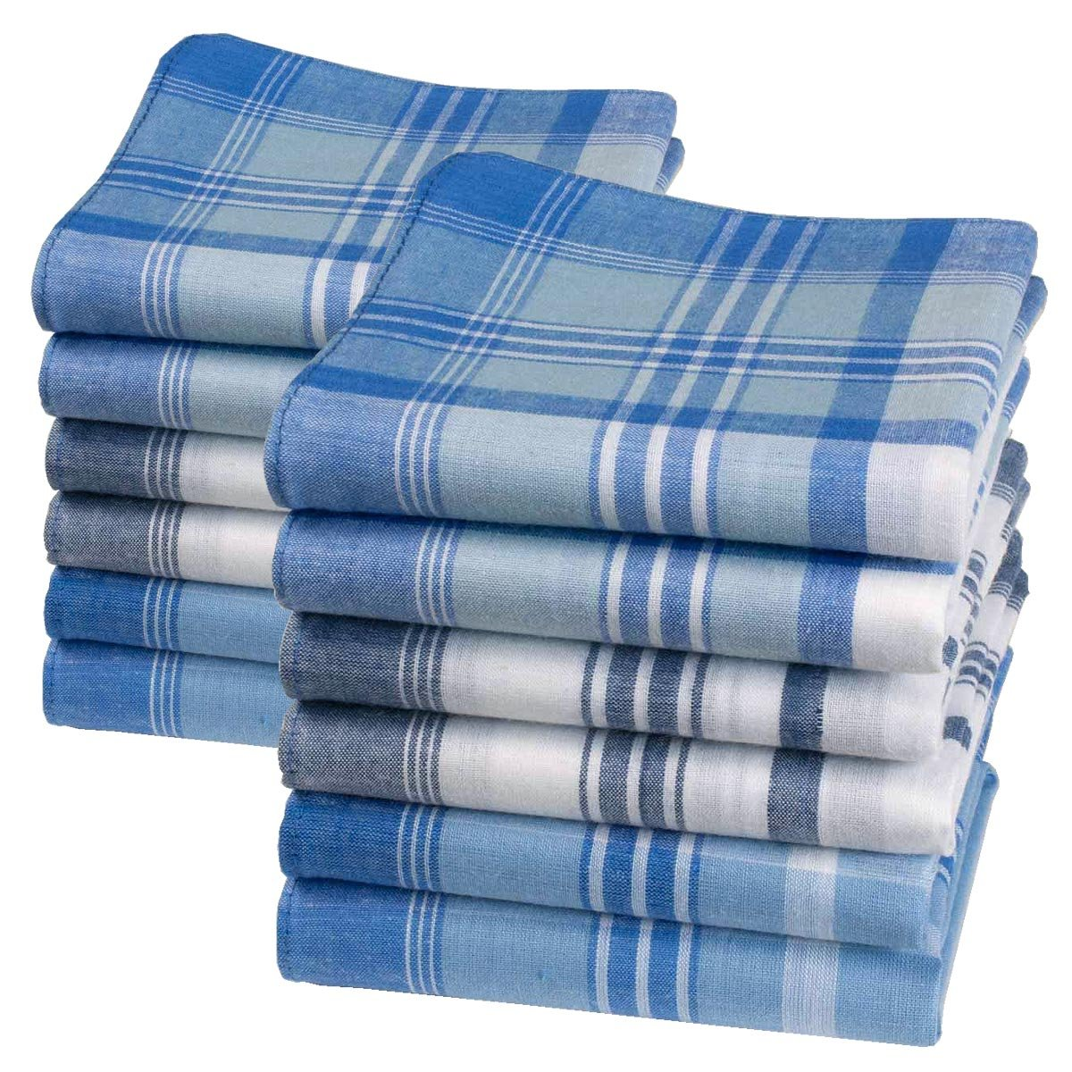 "Men's handkerchiefs ""Oscar"" – 16"" square – 6 units Merrysquare"