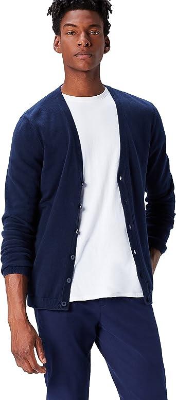 amazon chaqueta punto hombre