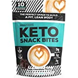 Delicious Keto Snacks are Healthy Low Carb Snacks - Keto Fat Bombs Snack Bars are a Perfect Ketogenic Diet Food & Gluten Free Dessert for Weight Loss & Fuel to Help You Build a Fit, Lean Body