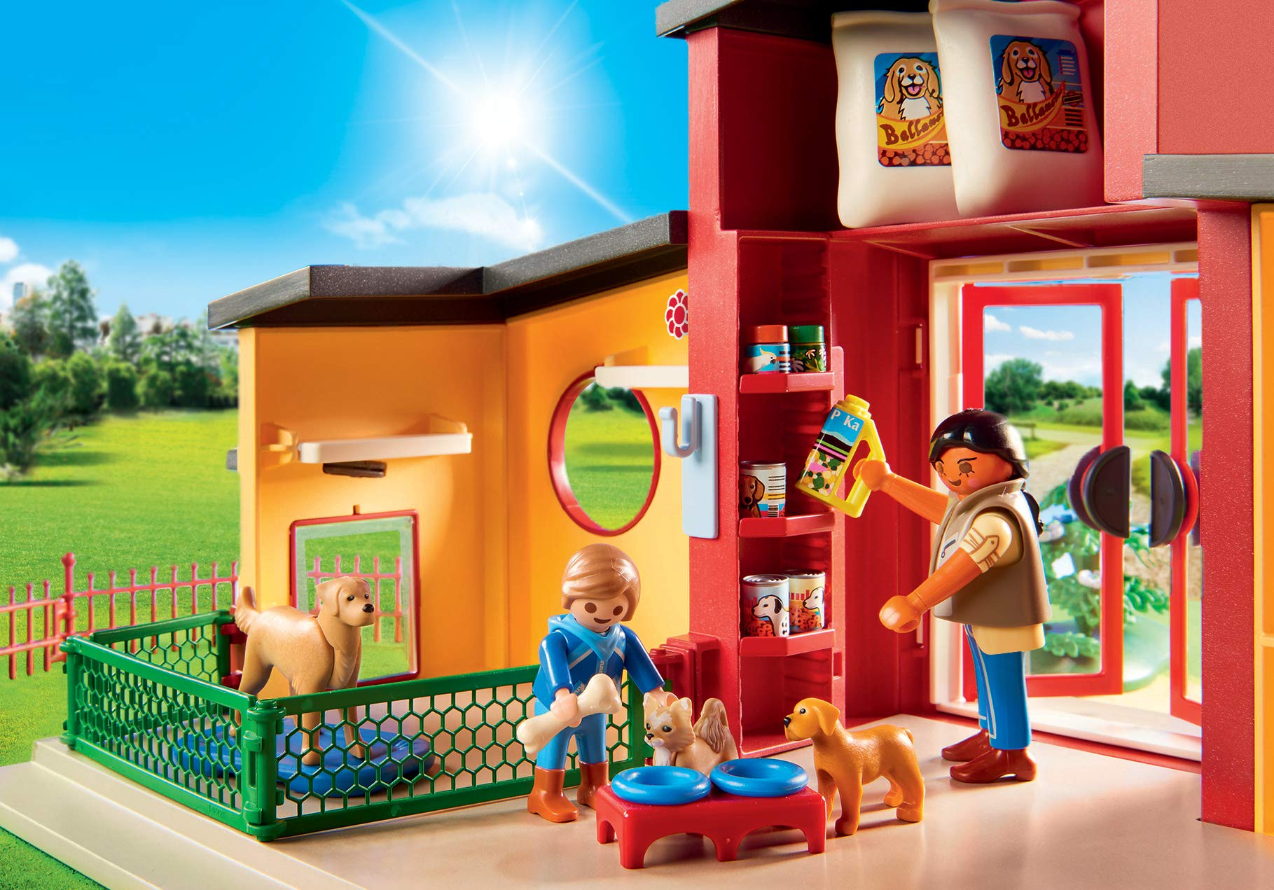 PLAYMOBIL® Tiny Paws Pet Hotel Multicolor by PLAYMOBIL® (Image #6)