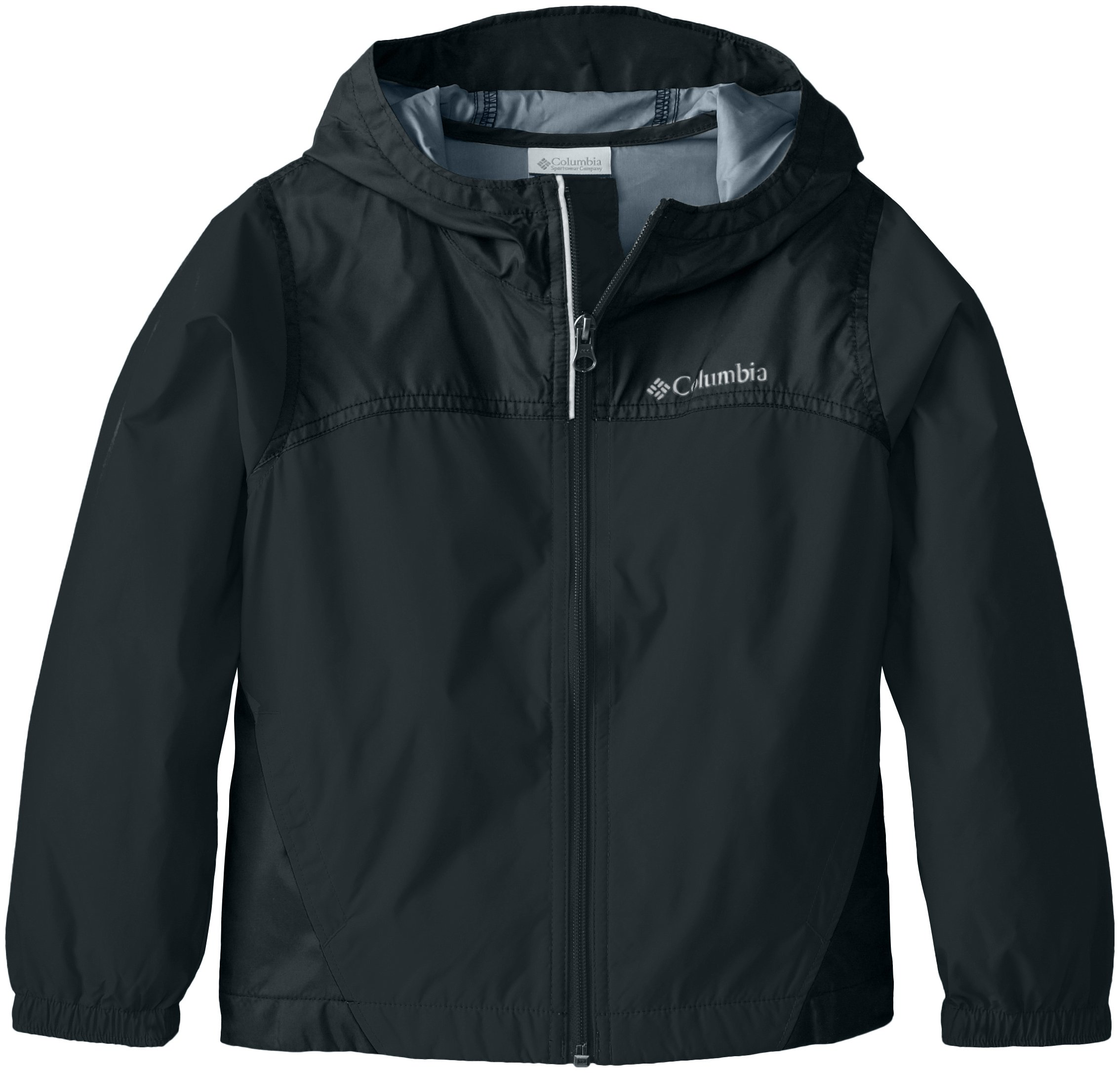 Columbia Big Boys' Glennaker Rain Jacket, Black, X-Large