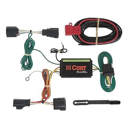 amazon com curt 56183 custom wiring harness automotive rh amazon com curt trailer hitch wiring kit curt trailer hitch t connector wiring kit