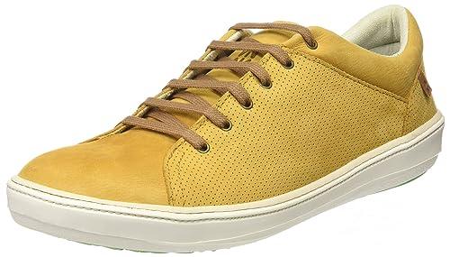 El Naturalista NF92, Zapatillas para Hombre, Amarillo (Curry/White), 41 EU