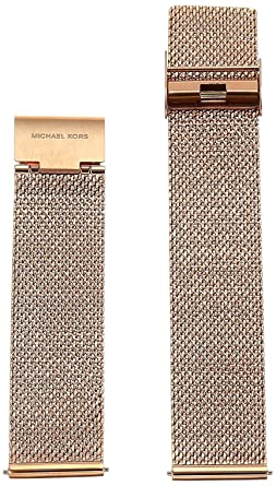 538a8bbcd8c8 Michael Kors Access Smartwatch Sofie Stainless Steel Mesh Strap  Amazon.co. uk  Watches