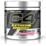 Cellucor, C4 Extreme Energy, Explosive High Energy Pre-Workout, Strawberry Kiwi, 30 Servings