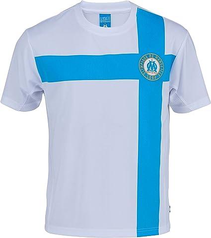 OLYMPIQUE DE MARSEILLE T-Shirt Om Collection Officielle Taille Homme
