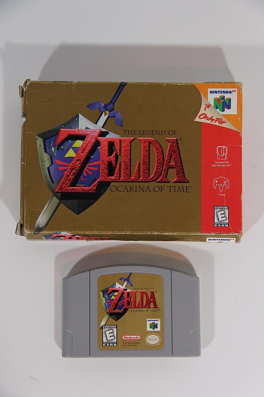 Amazon.com: The Legend of Zelda: Ocarina of Time: Video Games