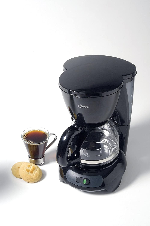 Cafetera Oster 12 Tazas Negra (NEGRO) by Oster: Amazon.es: Hogar