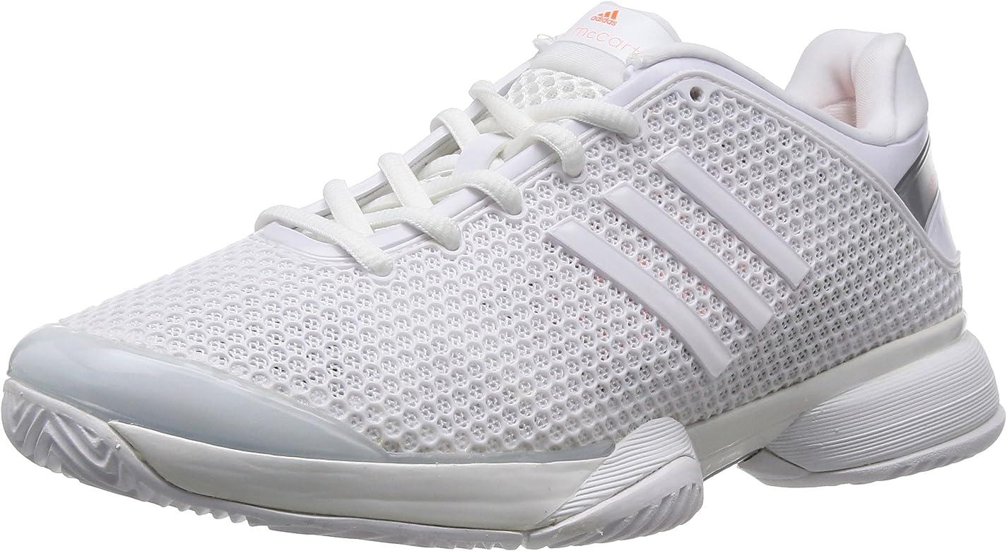 adidas Performance aSMC Barricade, Zapatillas de Tenis para Mujer, Blanco-Weiß (Running White FTW/Running White FTW/Ultra Bright S12), 36 2/3 EU: Amazon.es: Zapatos y complementos
