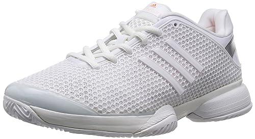 adidas Performance aSMC Barricade, Zapatillas de Tenis para Mujer, Blanco-Weiß Running White FTW/Ultra Bright S12, 36 2/3 EU: Amazon.es: Zapatos y ...