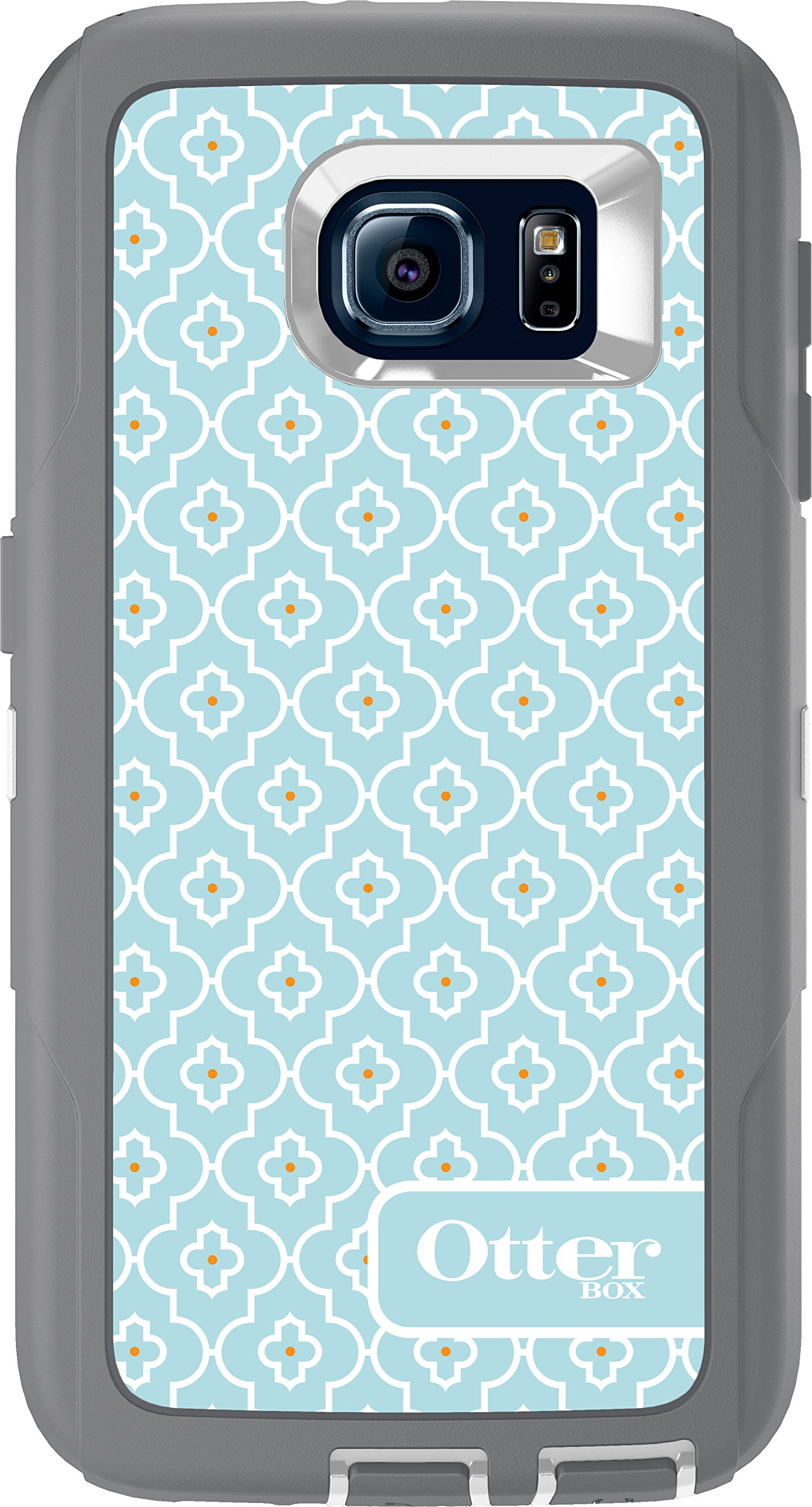 OtterBox DEFENDER Case for Samsung Galaxy S6 (ONLY) (GREY/MOROCCAN SKY)