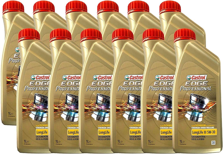 Castrol EDGE 5W-30 (Sello inglés), Aceite para motor, Paquete de ...