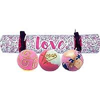 Bomb Cosmetics Love Cracker Handgemaakte Bad Blaster Gift Pack, Bevat 3-delig, 160 g per stuk [Inhoud kan variëren]
