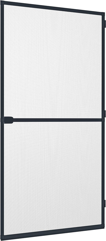 Windhager Rhino Screen Puerta de protección contra Insectos, Marco de Aluminio acortable Individualmente, 100 x 210 cm, Antracita, 03758: Amazon.es: Bricolaje y herramientas